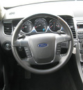 ford taurus 2011 silver sedan gasoline 6 cylinders front wheel drive automatic 62863