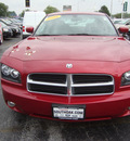 dodge charger 2006 red sedan r t gasoline 8 cylinders rear wheel drive automatic 60443