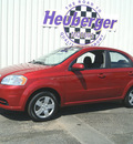 chevrolet aveo 2010 red sedan ls gasoline 4 cylinders front wheel drive automatic 80905