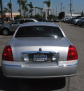 lincoln town car 2011 silver sedan signature limited flex fuel 8 cylinders rear wheel drive automatic 91010