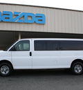 chevrolet express 2008 white van ls 3500 flex fuel 8 cylinders rear wheel drive automatic 27215