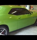 dodge challenger 2011 dk  green coupe srt8 392 gasoline 8 cylinders rear wheel drive shiftable automatic 34731