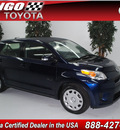 scion xd 2009 blue hatchback gasoline 4 cylinders front wheel drive automatic 91731