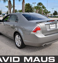 ford fusion 2008 slate sedan sel gasoline 6 cylinders front wheel drive automatic 32771
