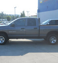 dodge ram 1500 2003 gray slt gasoline 8 cylinders 4 wheel drive automatic with overdrive 99212