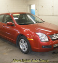 ford fusion 2009 dk  red sedan se gasoline 4 cylinders front wheel drive automatic 14304