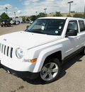 jeep patriot 2011 bright white suv latitude gasoline 4 cylinders 4 wheel drive 5 speed manual 81212