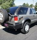 chevrolet blazer 2000 lt  gray suv ls zr2 off road gasoline v6 4 wheel drive automatic 80012