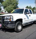 chevrolet silverado 2500hd 2004 white duramax 4x4 diesel 8 cylinders 4 wheel drive automatic 80012