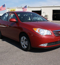 hyundai elantra 2010 red sedan gls gasoline 4 cylinders front wheel drive automatic 80229