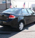 ford focus 2010 black sedan sel gasoline 4 cylinders front wheel drive automatic with overdrive 80229