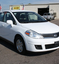 nissan versa 2010 white sedan 1 8 s gasoline 4 cylinders front wheel drive automatic with overdrive 80229