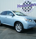 lexus rx 350 2010 cerulean blue suv gasoline 6 cylinders all whee drive automatic 80905