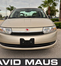 saturn ion 2004 gold sedan level 2 gasoline 4 cylinders dohc front wheel drive automatic 32771