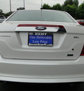 ford fusion 2010 white sedan sel flex fuel 6 cylinders front wheel drive shiftable automatic 98032