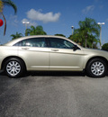 chrysler sebring 2010 gold sedan touring gasoline 4 cylinders front wheel drive automatic 33177