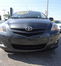 toyota yaris 2008 gray sedan gasoline 4 cylinders front wheel drive automatic 33177