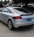 audi tt 2008 silver coupe 2 0t gasoline 4 cylinders front wheel drive shiftable automatic 27616