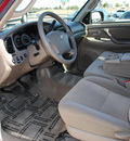 toyota tundra 2006 red sr5 gasoline 8 cylinders rear wheel drive automatic 75228