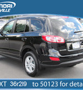 hyundai santa fe 2012 twilight black suv gls awd gasoline 4 cylinders all whee drive automatic 28805