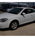 chevrolet cobalt 2010 white coupe lt gasoline 4 cylinders front wheel drive automatic 77090