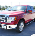 ford f 150 2011 red lariat gasoline 6 cylinders 2 wheel drive automatic 77388