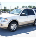 ford expedition 2011 white suv xlt flex fuel 8 cylinders 2 wheel drive automatic 77388