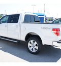 ford f 150 2011 white lariat gasoline 6 cylinders 4 wheel drive automatic 77388
