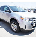 ford edge 2012 silver se gasoline 6 cylinders front wheel drive automatic 77388