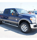 ford f 250 super duty 2012 dark blue pearl lariat biodiesel 8 cylinders 4 wheel drive automatic with overdrive 77388