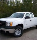 gmc sierra 1500 2012 white work truck flex fuel 8 cylinders 4 wheel drive not specified 44024