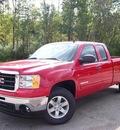 gmc sierra 1500 2011 red sle flex fuel 8 cylinders 4 wheel drive not specified 44024