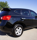 nissan rogue 2010 black suv gasoline 4 cylinders front wheel drive automatic with overdrive 76018