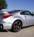 nissan 350z 2008 silver coupe nismo gasoline 6 cylinders rear wheel drive 6 speed manual 76018