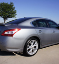 nissan maxima 2009 gray sedan 3 5 sv gasoline 6 cylinders front wheel drive automatic 76018