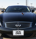 infiniti g37 2008 black coupe s gasoline 6 cylinders rear wheel drive automatic 76018