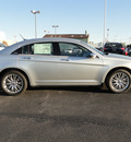 chrysler 200 2012 silver sedan limited gasoline 4 cylinders front wheel drive shiftable automatic 60915