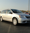 chrysler town and country 2012 silver van touring l flex fuel 6 cylinders front wheel drive shiftable automatic 60915