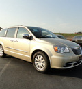 chrysler town and country 2012 white gold van touring l flex fuel 6 cylinders front wheel drive shiftable automatic 60915