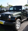 jeep wrangler unlimited 2012 green suv sahara gasoline 6 cylinders 4 wheel drive automatic 07730