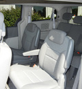 chrysler town and country 2010 silver van touring w sirius gasoline 6 cylinders front wheel drive automatic 55016