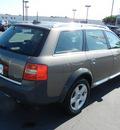 audi allroad quattro 2004 gray wagon allroad 2 7 awd gasoline 6 cylinders all whee drive automatic 55420