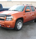 chevrolet avalanche 2007 orange suv lt 1500 gasoline 8 cylinders rear wheel drive automatic 45840