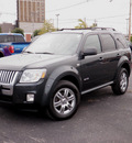 mercury mariner 2008 dk  gray suv v6 gasoline 6 cylinders front wheel drive automatic 61832