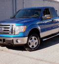 ford f 150 2010 blue xlt flex fuel 8 cylinders 4 wheel drive automatic 61832