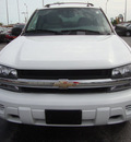 chevrolet trailblazer 2005 white suv ls gasoline 6 cylinders 4 wheel drive automatic 60443