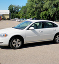 chevrolet impala 2008 white sedan lt gasoline 6 cylinders front wheel drive automatic 55318