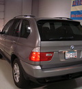bmw x5 2006 gray suv 3 0i gasoline 6 cylinders all whee drive automatic 55305