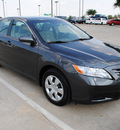 toyota camry 2009 dk  gray sedan le gasoline 4 cylinders front wheel drive automatic 75228