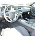 chevrolet camaro 2012 black coupe gasoline 6 cylinders rear wheel drive 6 spd auto conv and conni 77090